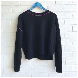 Joie Benin Wool & Cashmere Crewneck Sweater